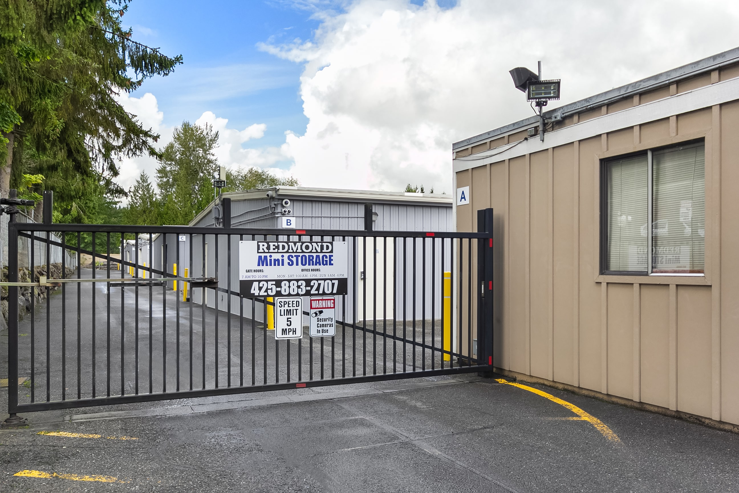 Redmond Self Storage- Storage Court
