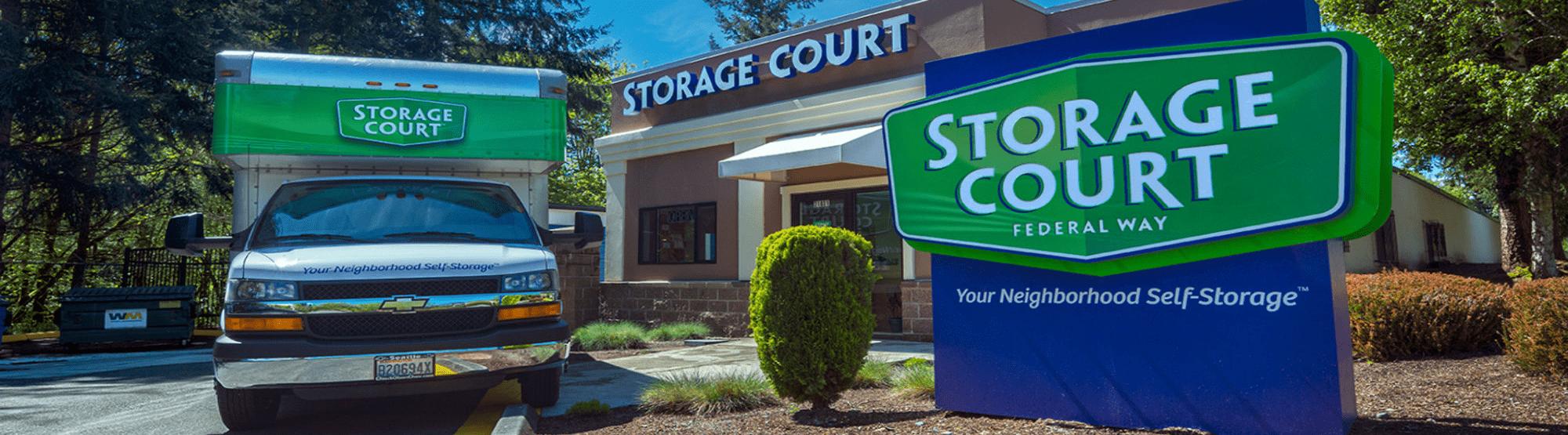 Storage Court-Truck