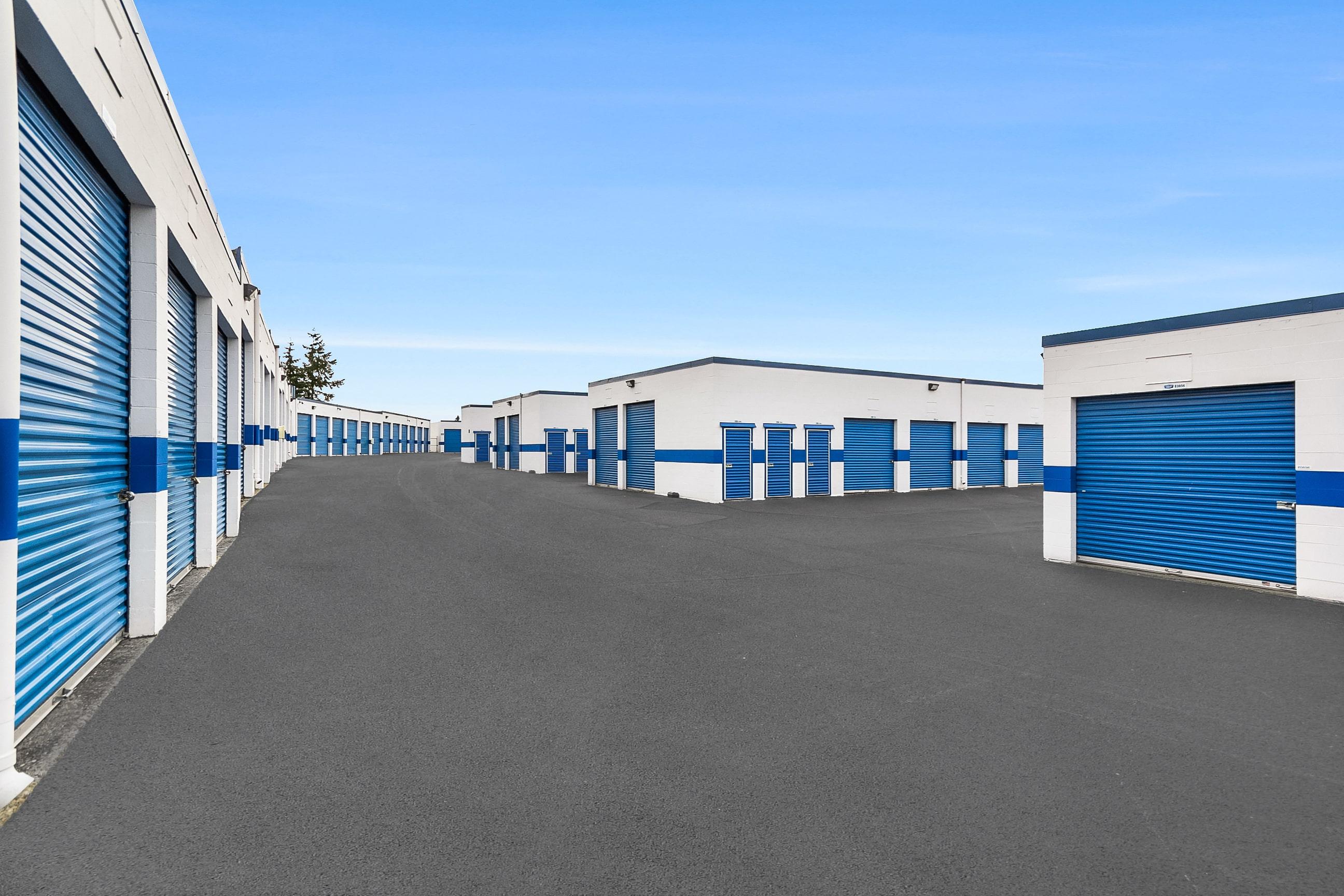 Exterior Self Storage Units Tacoma, WA