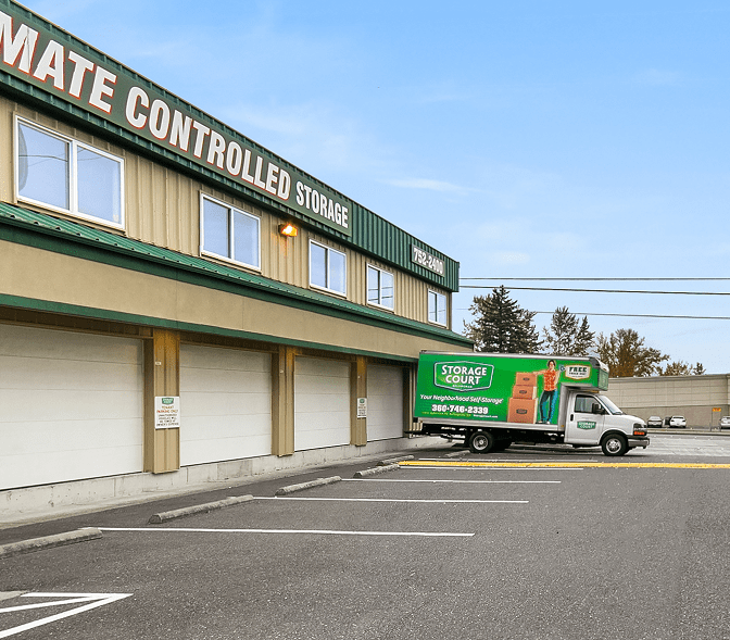 Exterior Storage Units in Bellingham, WA