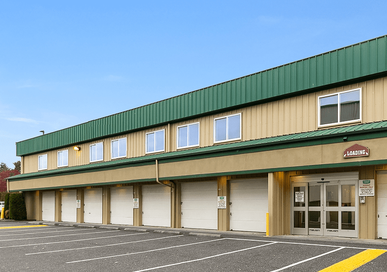 Exterior Self Storage in Bellingham, WA
