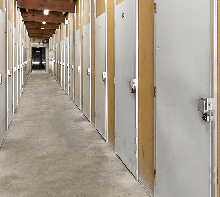 Interior Self Storage Units Kirkland, WA