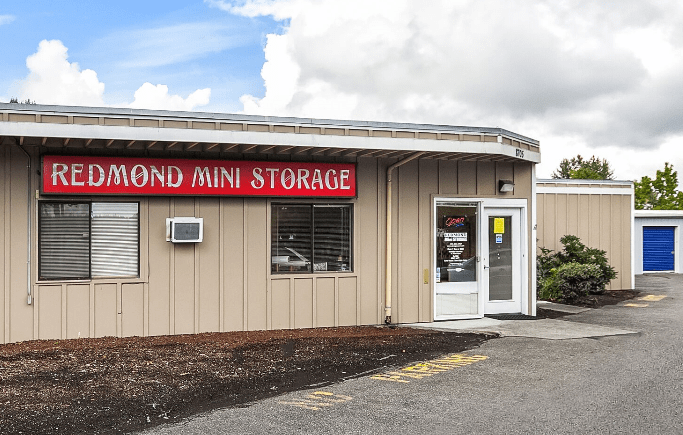 Redmond Self Storage Exterior