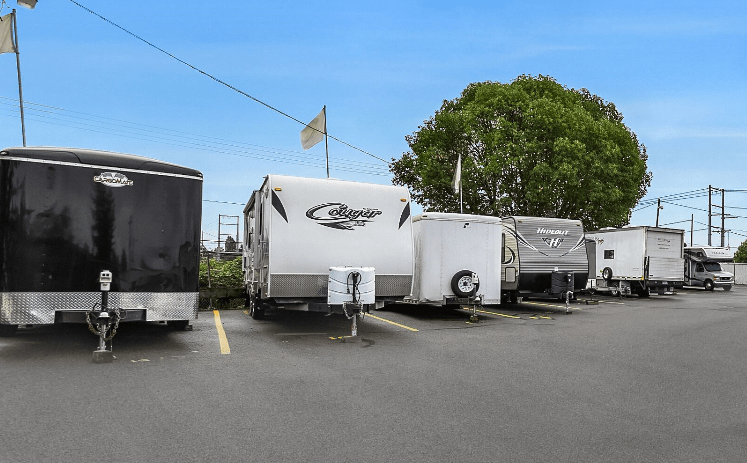 RV Parking Tacoma, WA