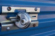 Lock on self storage unit in Jonesboro, AR