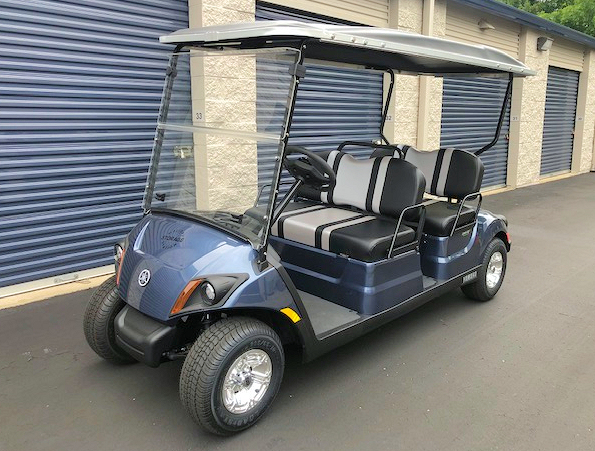 Golf cart for tours