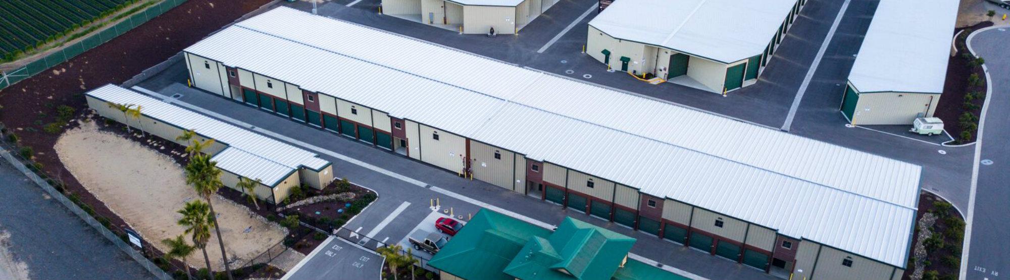 Monarch Mega Storage Facility Exterior
