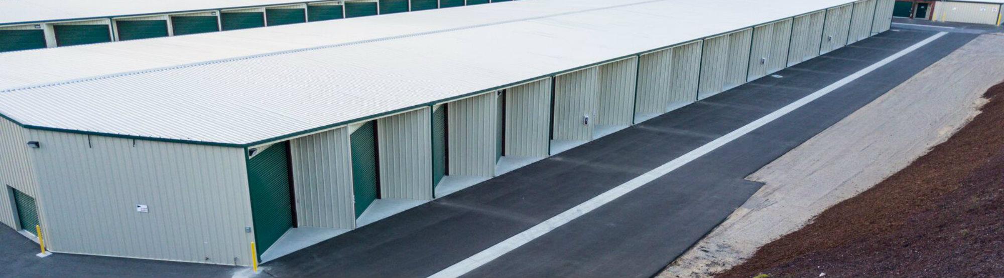 Monarch Mega Storage Unit Exterior
