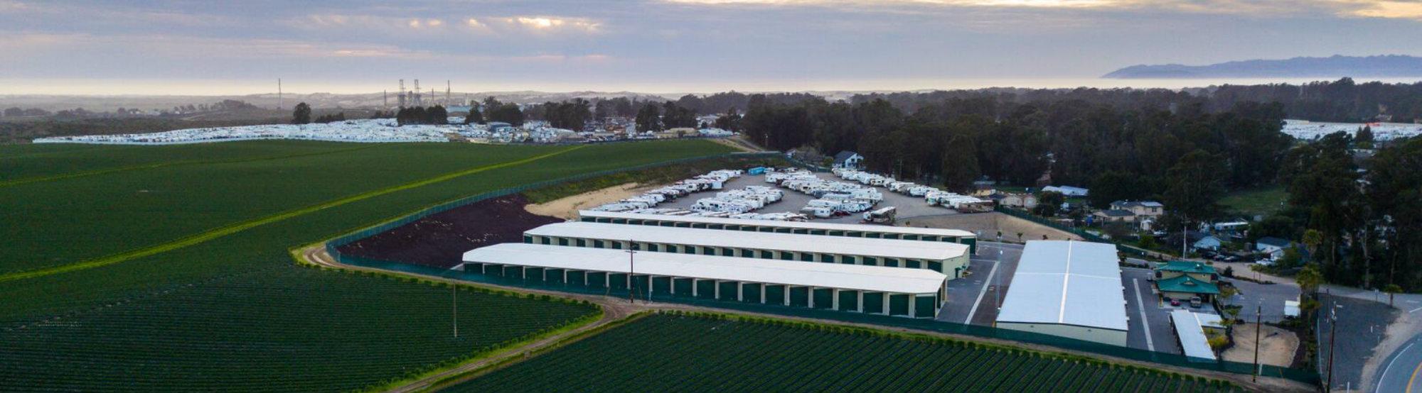 Monarch Mega Storage Exterior Aerial View Side