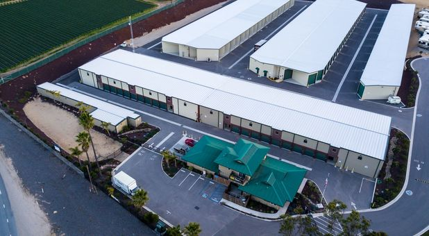 Storage units of all sizes in Arroyo Grande, CA