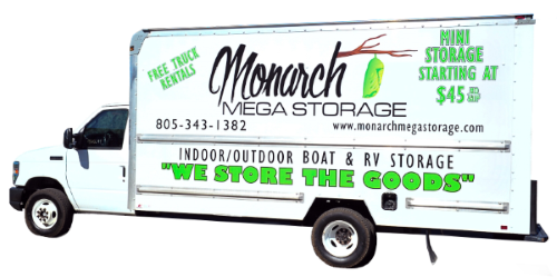 Monarch Mega Storage truck