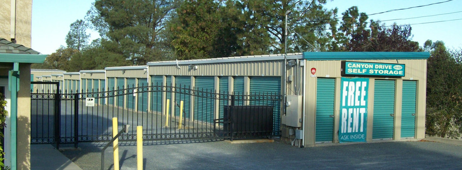 Storage Units Near Oroville East Ca Canyon Drive Self