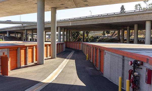 Clean and Secure Self Storage in West LA
