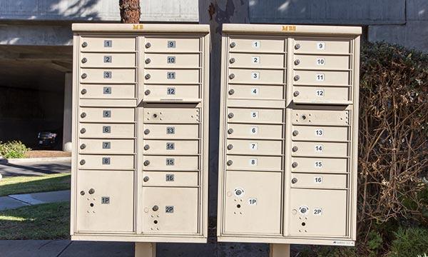 Mailbox services, self storage in west LA