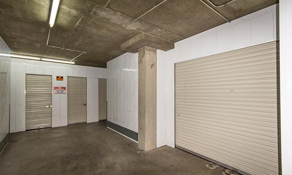 Clean safe self storage units