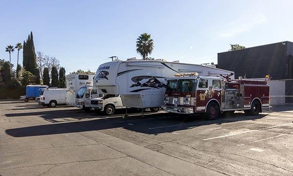 RV and Boat Self Storage in Anaheim