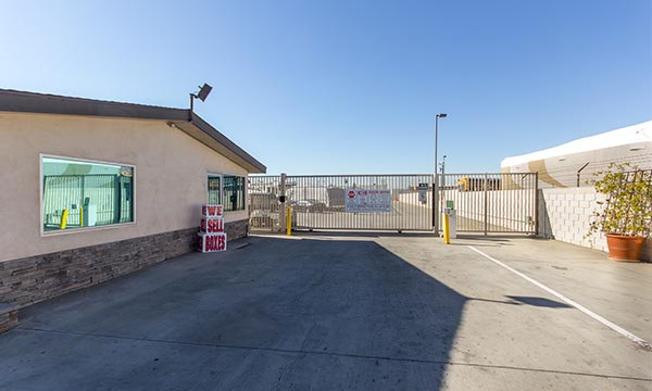 Gated and Fence Protected Storage Units