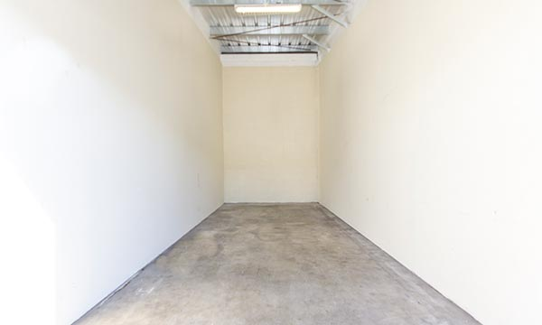 Clean Self Storage units in Orange County
