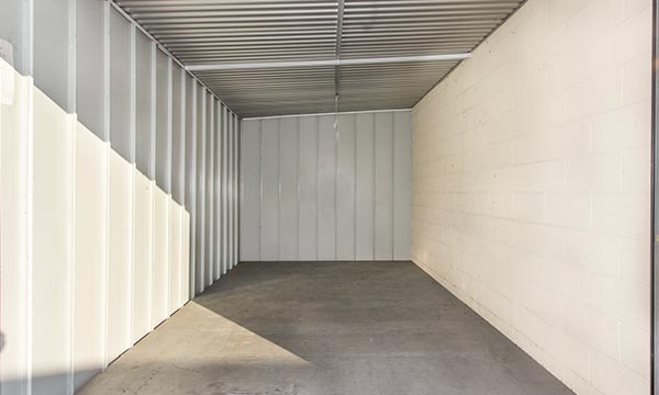 Inside a Storage Unit