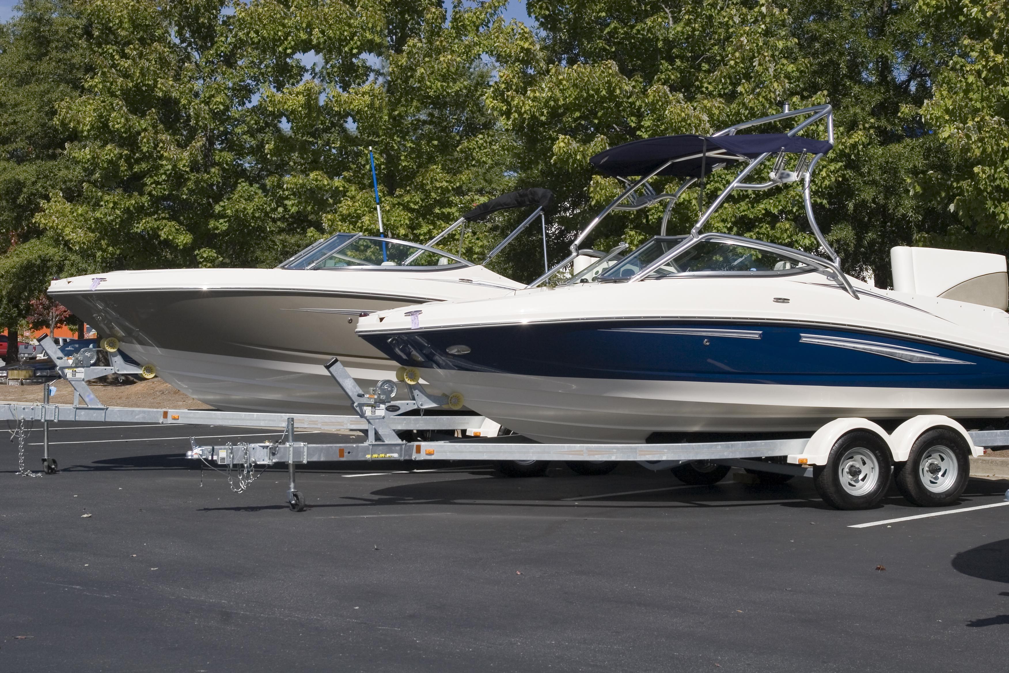 Boat Storage at MiniStorage