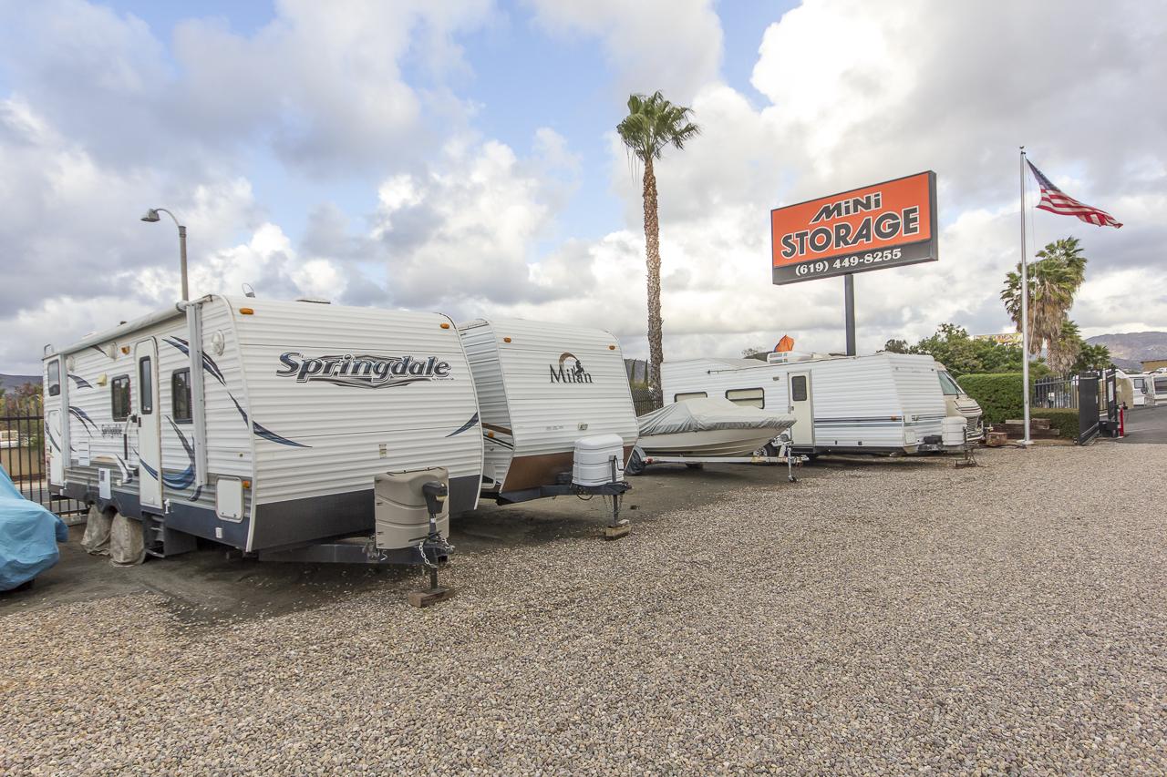 RV and Boat Parking, Santee Mini Storage