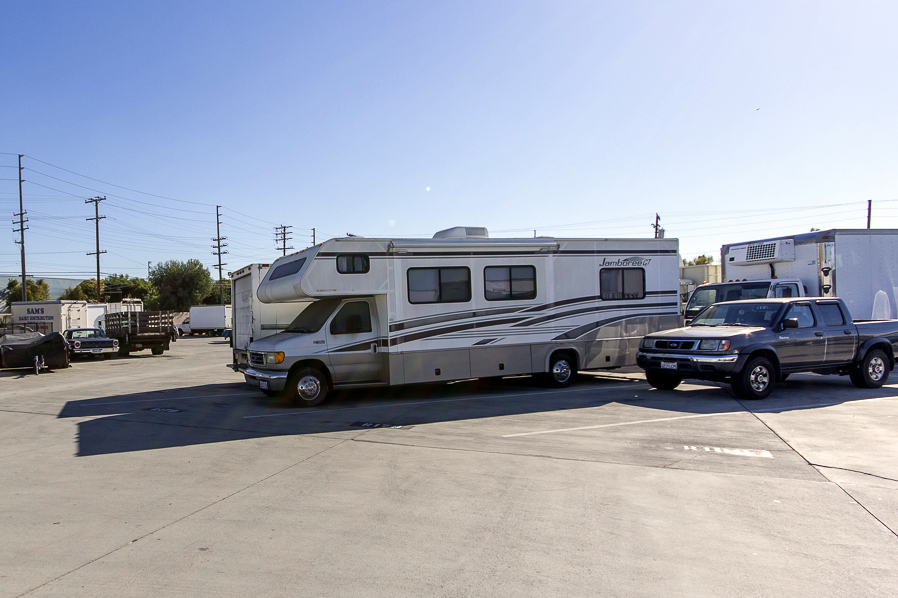 Large RV Self Storage