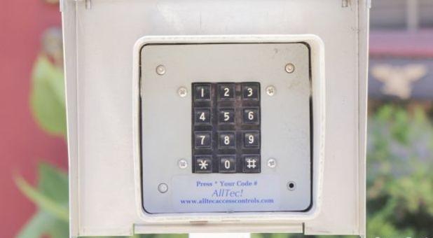 Oak Cliff Facility KeyPad Entry
