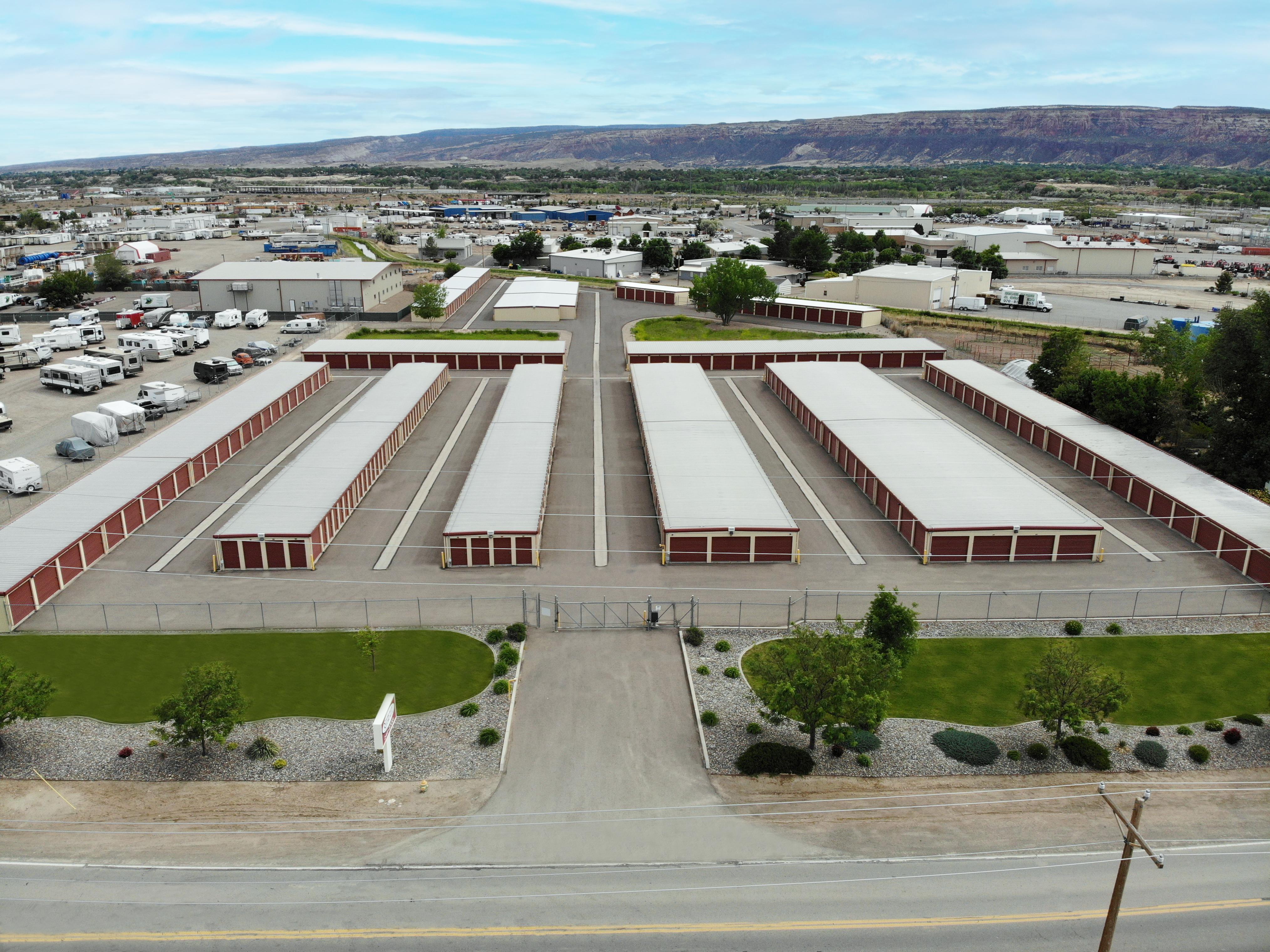 Aerial of Storage Storage in Grand Junction, CO