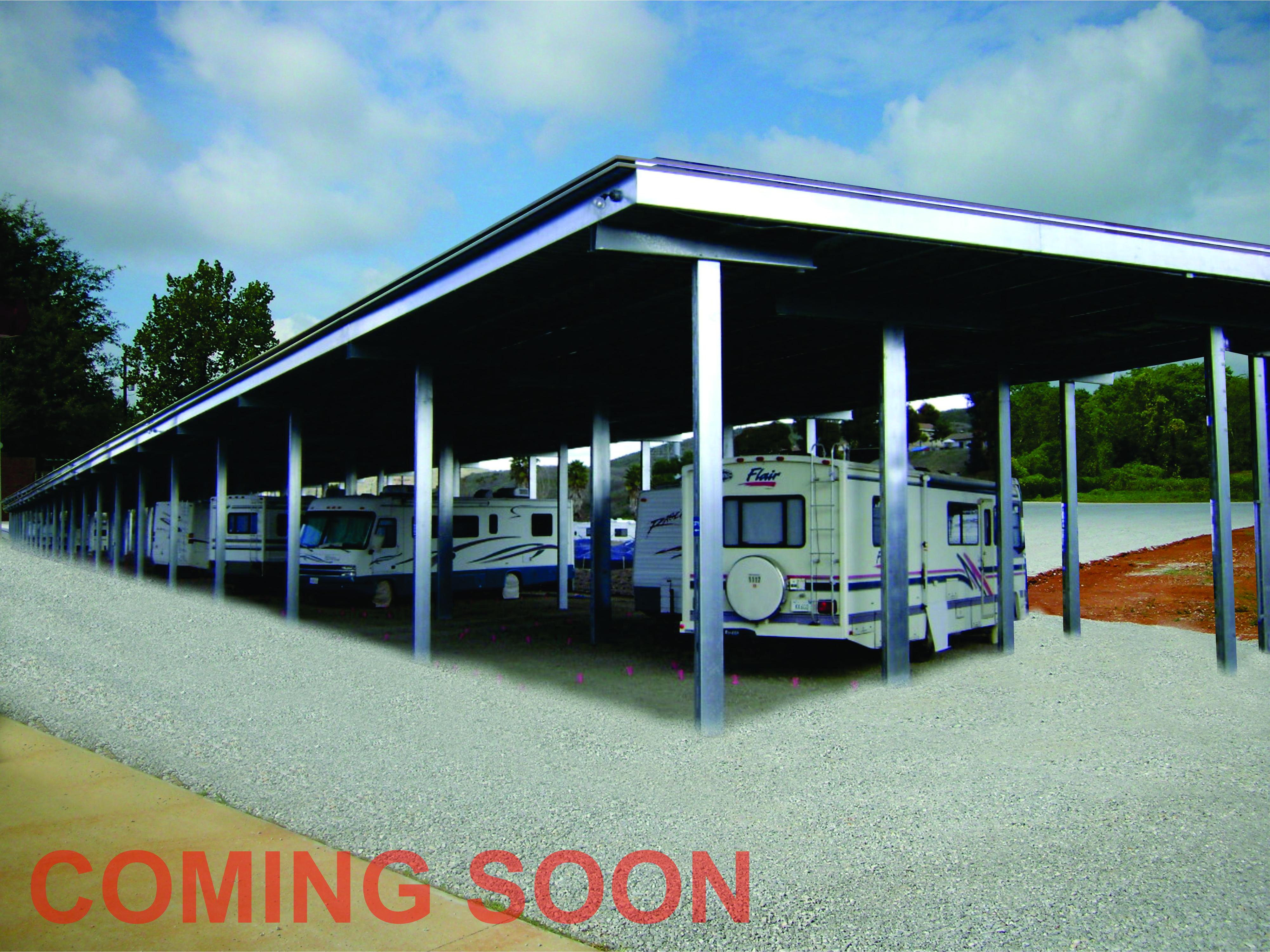 Premier Storage canopy