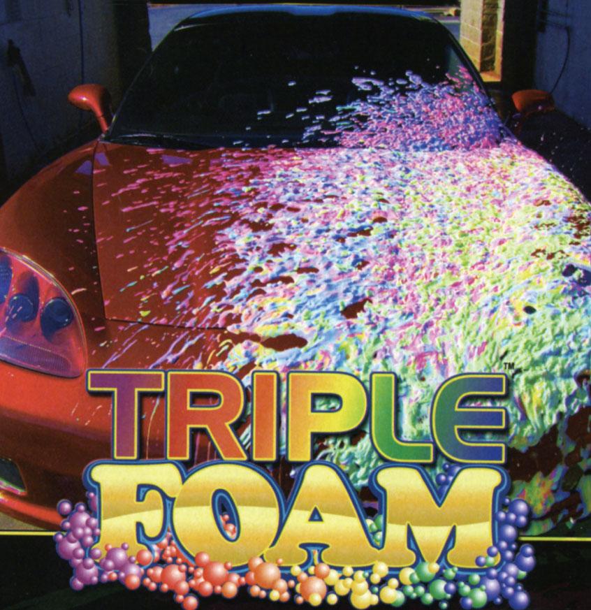 Triple Foam Car Wash in Tuscon, AZ