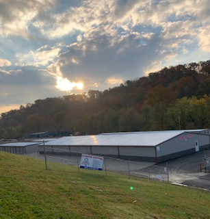 Beautiful morning at StoneCreek Storage