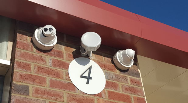 Advanced security camera technology