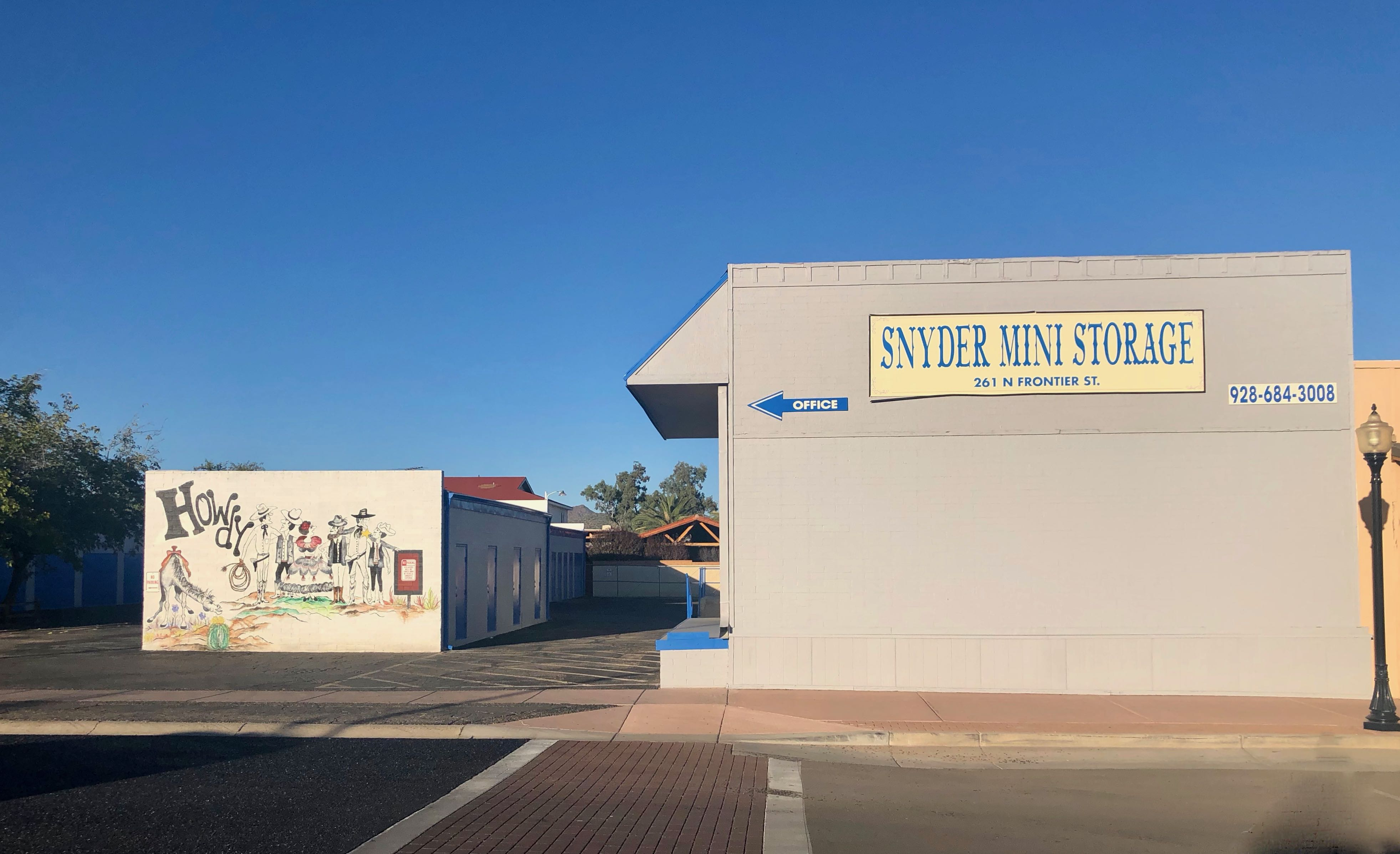 Snyder Mini Storage Wickenburg, AZ