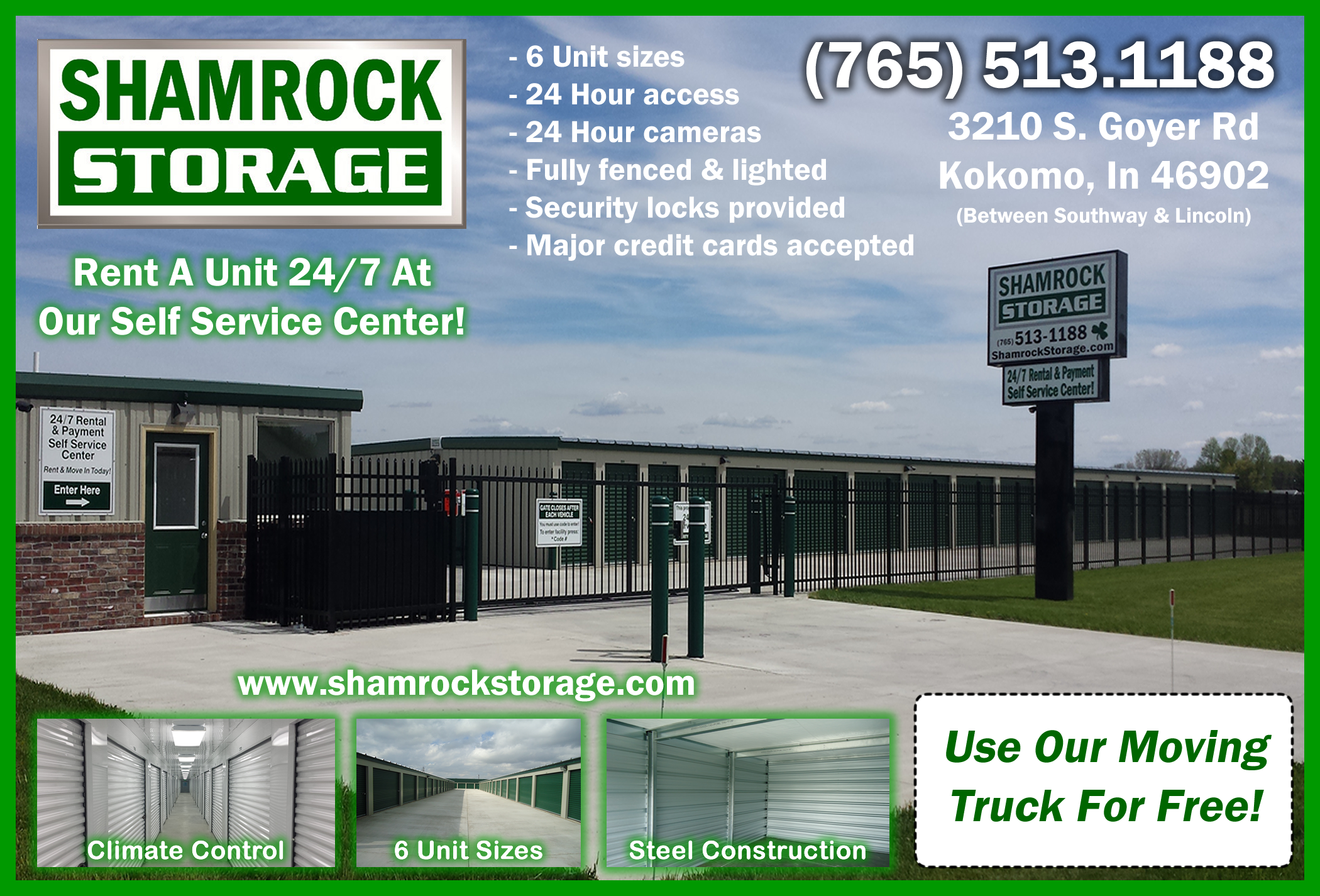 Shamrock Storage IN