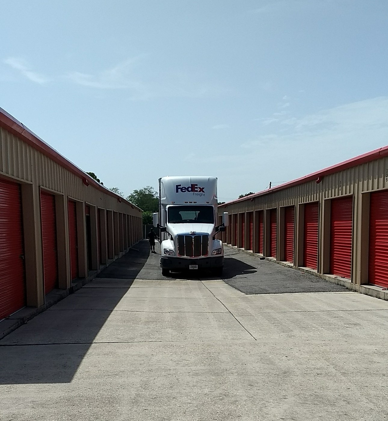 Westbank Self Storage Drive-Up Access