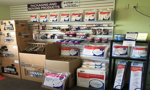 packing and moving supplies available at U-Store Self Storage - Brighton