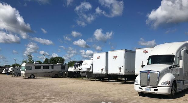 Storage for RVs, campers, semi trucks, and trailers