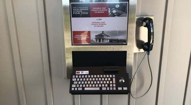 Contactless Rental Kiosk