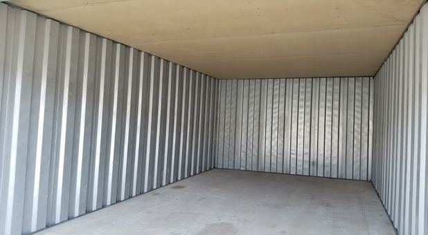 Inside look in our clean and spacious storage units at Stop-N-Stor - Oregon