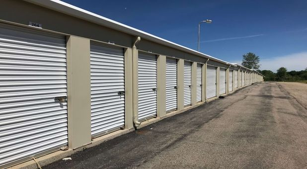 Large drive up accessible storage