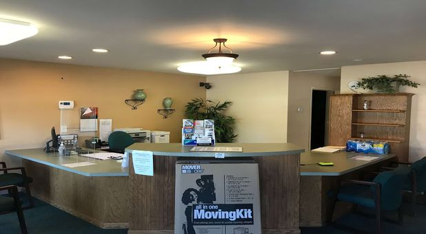Stop-N-Stor Northwood Storage Facility Office and Front Desk