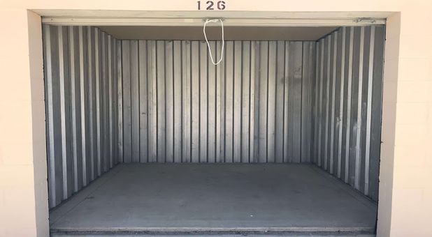 Inside look into one of our storage units at Stop-N-Stor Northwood