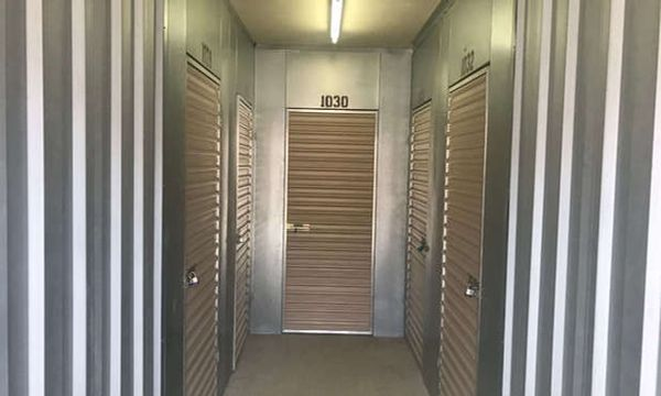 Standard Interior storage lockers at Stop-N-Stor - Stow