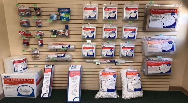 Packing and moving supplies available at Stop-N-Stor - Toledo