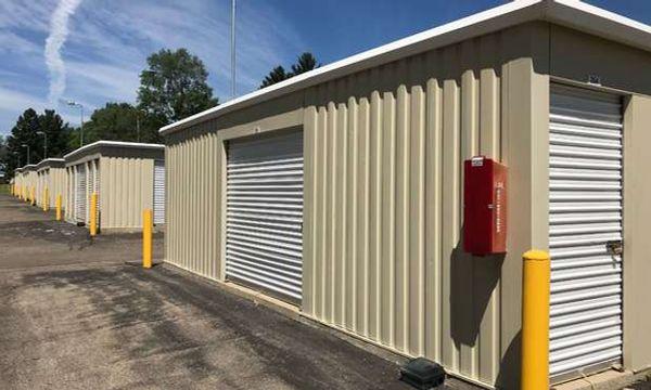 Drive up storage units