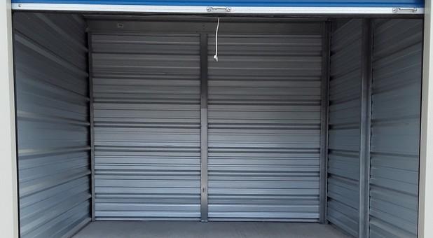 Inside look in our clean storage units at U-Store Self Storage - Davison West
