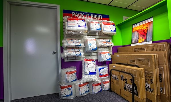 Packing and moving supplies available