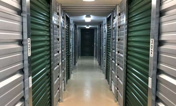 Indoor, climate controlled storage units at U-Store Self Storage - Richland