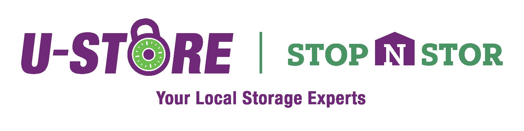 U-Store MI & Stop-N-Stor Logo