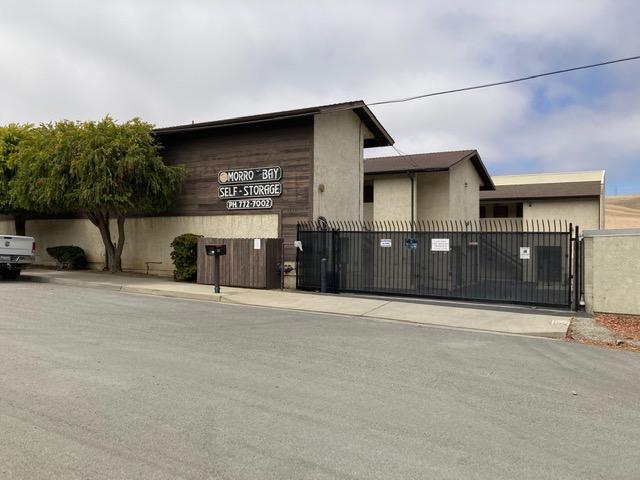 fenced and gated facility Morro Bay, CA